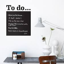 Ferm Living Reusable To Do List Wall Stickers Home Wall Decor Reusable Wall Stickers Chalkboard Wall Decal