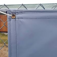 Custom Privacy Fence Screens Windscreen Tarp 13oz Vinyl Laminated Polyester 100 Solid Lookout Mountain Tarp