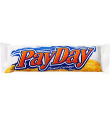 payday bar peanut caramel