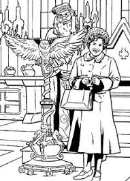 Harry Potter And The Order Of The Phoenix Coloring Pages