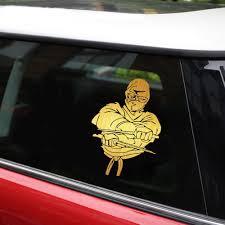 Ninja Warrior Car Bumper Sticker Decal 3 X 5 Automobilia Decals Stickers Collectibles Transportation