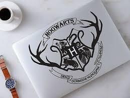 Harry Potter Hogwarts Crest Macbook Laptop Car Wall Vinyl Decal Sticker 69