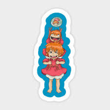 Studio Ghibli Kiki Delivery Service Vinyl Wall Bumper Bottle Phone Decal Sticker