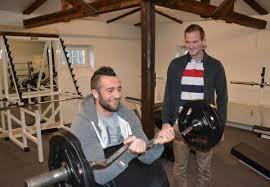 vojens har fået nyt fitnesscenter