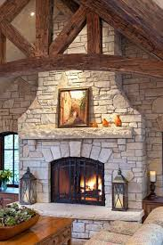 stone fireplace ideas fireplace hearth