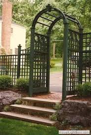 Pin By Joann Armato On Patio And Plants Garden Gates And Fencing Home Landscaping Garden Entrance
