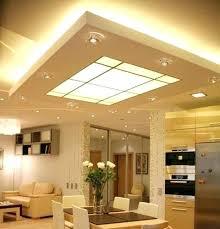 lighting for drop ceiling basement