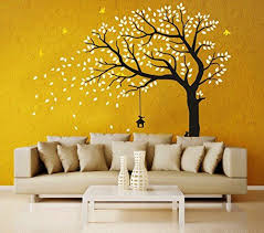 Huge Family Tree Wall Decals Green Tree Removable Wall Decor Decorative Painting Supplies Wall Treatments Baby Wall Art Diy Wall Stickers Bird Wall Decals