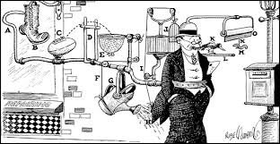 Rube Goldberg and the Irreducible Strangeness of Electricity - The Atlantic