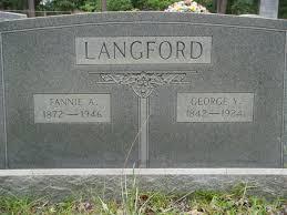"Frances Adeline ""Fannie"" Powell Langford (1872-1946) - Find A Grave Memorial"