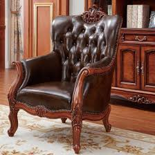 china wood leather sofa chairs with