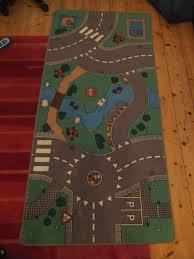 town car track play mat rug carpet toy