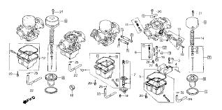 1979 honda carburetor ponent parts