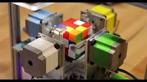 ruku the rubik s cube solving robot