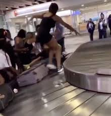 Philadelphia Airport Baggage Claim Becomes War Zone - Live and ...