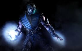 new mortal kombat sub zero wallpaper