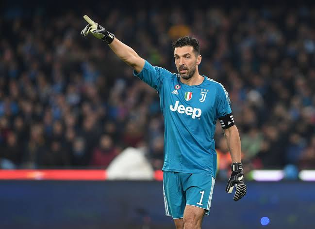 Image result for buffon getty""