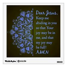 Dear Jesus Prayer Wall Decal Zazzle Com