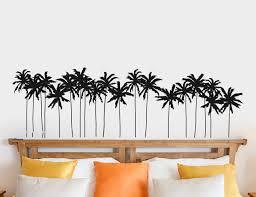 Bay Isle Home Palm Trees Silhouette Wall Decal Wayfair