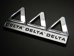 Delta Gamma Sorority Bumper Sticker Decal For Sale Online Ebay