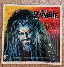 10176 Rob Zombie Hellbilly Deluxe Album Cover Hard Rock Alt Metal Sticker Decal For Sale Online Ebay