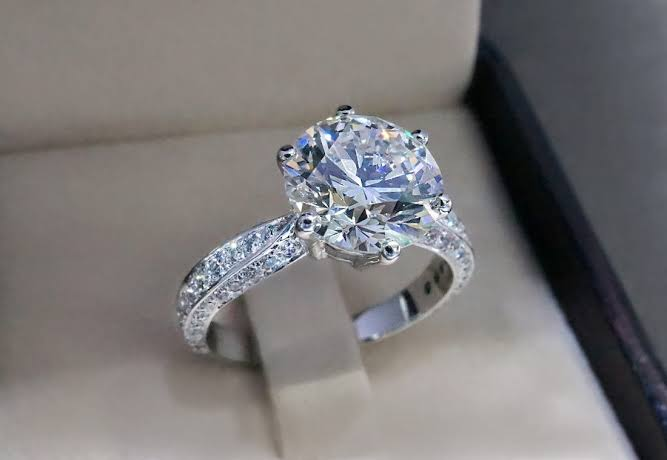 Image result for diamond engage ring""