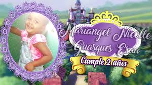 Tarjeta Digital Invitacion Princesa Sofia Dinamita Producciones