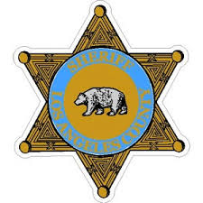 Los Angeles County Sheriff Badge Vinyl Sticker At Sticker Shoppe