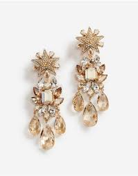 pendant earrings with decorative
