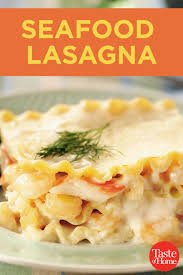 Seafood lasagna recipes ...