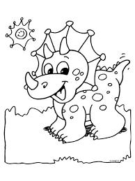 Kleurplaat Dino Kleurplaten Dieren Kleurplaten Dinosaurus