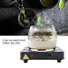 1000W Bếp Điện Nhiệt Nhanh Thực Phẩm Mini Bếp Điện Đa Năng Nấu Nóng Tấm Đun  Sôi Trà Cà Phê Sữa 110 240V|