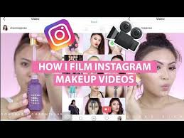 film edit insram makeup videos