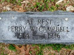 Perry Webster Campbell (1914-1936) - Find A Grave Memorial
