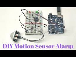 diy motion sensor alarm you
