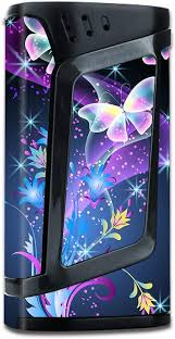 Amazon Com Skin Decal Vinyl Wrap For Smok Alien 220w Tc Vape Mod Stickers Skins Cover Glowing Butterflies In Flight