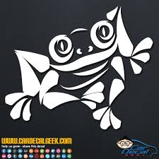 Cool Tree Frog Car Window Decal Sticker Wildlife Decals