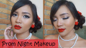 makeup tutorial prom night saubhaya
