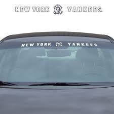 Mlb New York Yankees Windshield Decal Fanmats Sports Licensing Solutions Llc