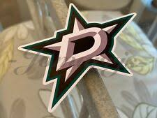 Dallas Stars Decal Nhl Fan Apparel Souvenirs For Sale Ebay