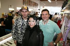 Artist Simone Legno Tokidoki COO Pooneh Mohajer and co owner Ivan...    WireImage   94365309