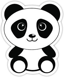 Amazon Com Panda Bear Sticker Laptop Stickers 3 Vinyl Decal Laptop Phone Tablet Vinyl Decal Sticker Arts Crafts Sewing