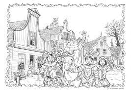 Kleurplaat Sint Op Zaanse Schans Noordhollandsdagblad