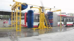 Máy rửa xe khách tự động lần đầu tiên được sản xuất tại Việt Nam -  Vinalinks Group