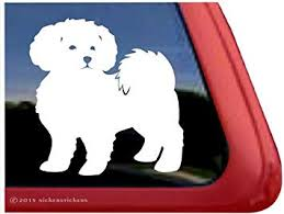 Amazon Com Plain Maltipoo Dog Window Decal Sticker Automotive