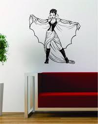 Vampire Dracula Girl Pin Up Design Decal Sticker Wall Vinyl Art Decor Boop Decals