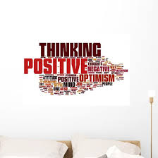 Positive Thinking Wall Decal Wallmonkeys Com