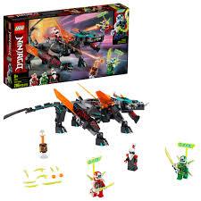 Amazon.com: LEGO NINJAGO Empire Dragon 71713 Ninja Toy Building ...
