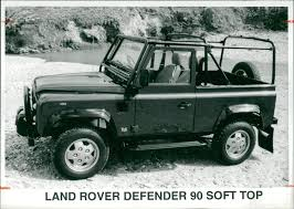 Amazon.com: Vintage photo of Land Rover defender 90 soft top ...
