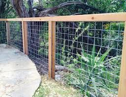 Austin Brothers Fence Company Quality Fence Installation Bpw Wire Fence Backyard Fences Garden Fencing
